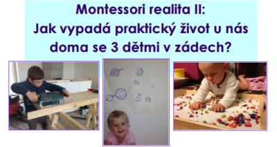 MONTESSORI REALITA II. @ Herna RC Kašpárkov | Rosice | Česko